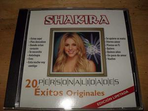 Shakira 20 Exitos Personalidades Cd Edicion Limitada