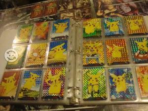 Anime Pokemon Coleccion Pikachu Tarjetas Sueltas