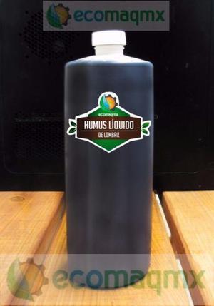 Fertilizante organico ECOMAQMX a base humus de lombriz roja