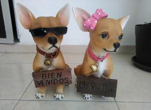 Pareja de Perros Chihuahua
