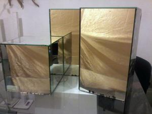 Arbolitos de herreria y bases de espejo