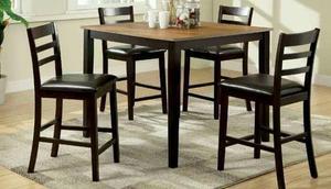 Comedor alto mesa tipo marmol 4 sillas nuevo posot class for Lo ultimo en sillas de comedor