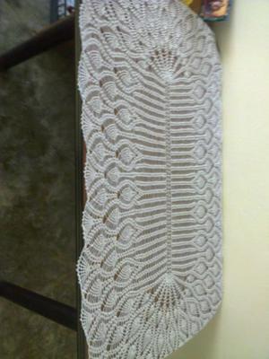 Hermosa carpeta artesanal