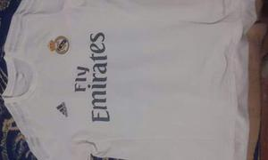 Jersey Real Madrid y balon Champions League