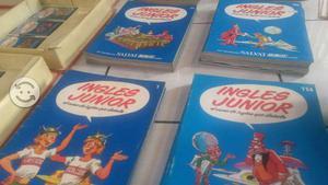 Libros ingles junior, casete audio libros
