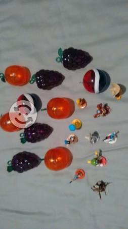 Lote 10 esferas pepsi vintage con personajes