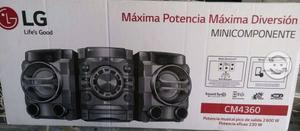 Mini componente CM 4360 Nuevo