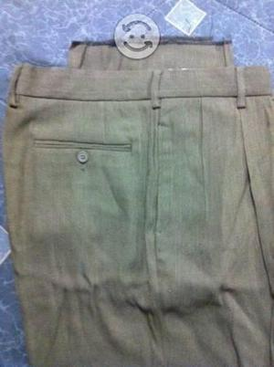 Pantalon Vestir Beige Importado