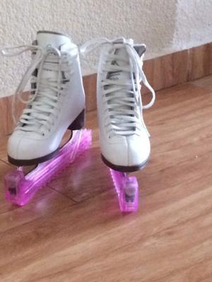 Vendo patines para hielo seminuevos