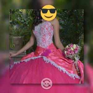 Vestido XV rosa fiuchs
