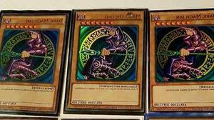 3 Magos Obscuros Yugioh Ultra Raro. Envío Gratis