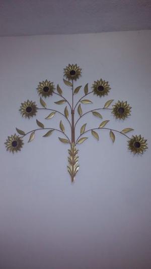 Adorno Pared flores