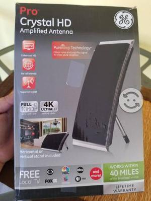 Antena amplificadora Pro crystal Hd