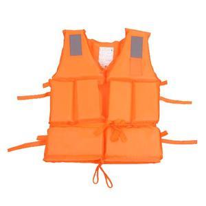 Chaleco Salvavidas Rescatista Seguridad Reflectante Pesca
