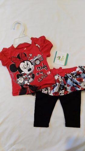 Conjunto Minnie Mouse Para Bebé 2 Pzas. Disney Baby