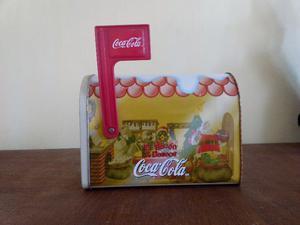 El Buzón De Los Deseos Coca-cola Metálico Vips
