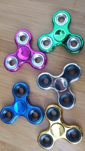 Fidget Spinner Metalico