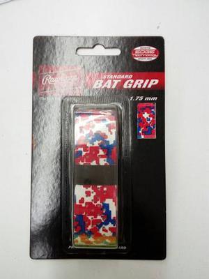 Grip Para Bat Rawlings Camu Rojo