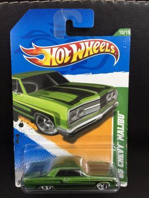 Hot Wheels Treasure Hunt 65 Chevy Malibu