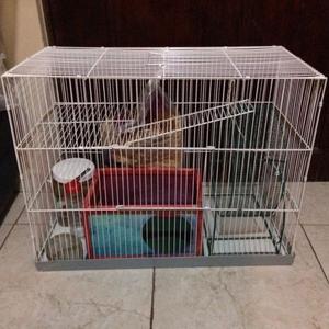 Jaula grande para roedores