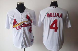 Jersey Saint Louis Cardinals Yadier Yad Molina