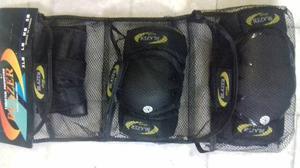 Kit De Protección Reforzado, Rodilleras, Coderas,