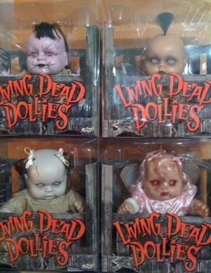 Living Dead Dollies Set 4 Muñecas Importadas