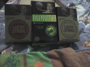 Lote Cajas De Carton Lucky Strike,pall Mall Y Camel Armable
