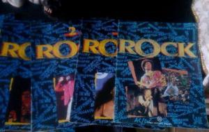 Lote de 10 Revistas Antiguas Idolos del Rock