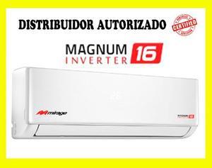 Minisplit Mirage Inverter 1 Tonelada 220v 16 Seer Ahorrador