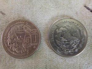 Monedas Antiguas de 50 pesos Mexicanas