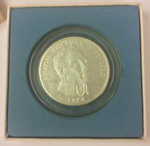Monedas Franklin Mint De Plata, 20 Balboas