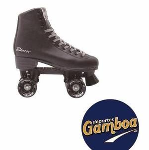 Patines Roller Negro Ct006