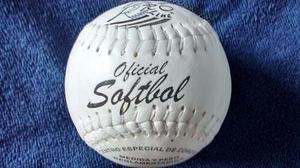 Pelota Softbol Proline Palomares Una Pieza