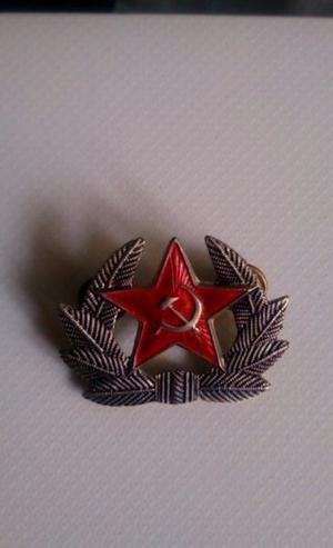 Pin Ruso Estrella Roja Laureada de Coloccion