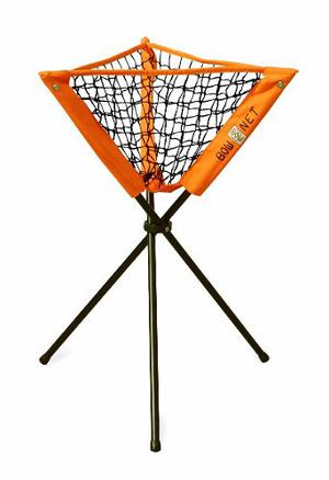 Red Portapelotas Baseball O Softball Bownet Bp Caddy