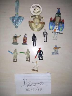Star wars, varios, juguetes, micro machines, vinta