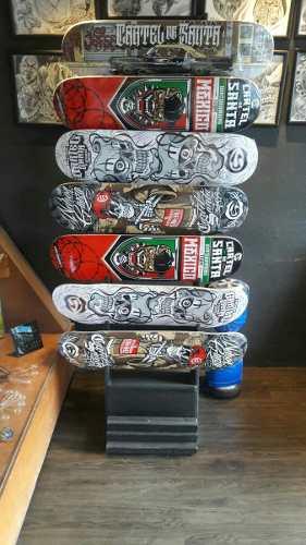 Tabla Skateboarding Cartel De Santa.