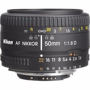 Vendo Lente Nikon AF Nikkor 50mm 1:1.8 D