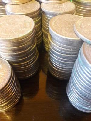 vendo monedas antiguas coyolxauhqui mexicanas