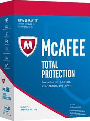 Antivirus Mcafee Total Protection Ilimitado  Año