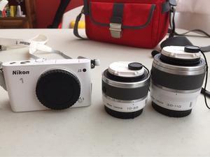 Camara Nikon 1 J3 Lentes Y Accesorios