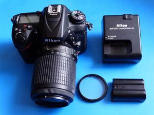 Camara Nikon D + Lente  Seminueva