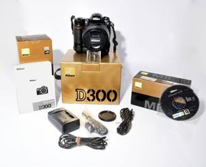 Camara Nikon D300 Con Lente  Mm F g If-ed Dx-vr
