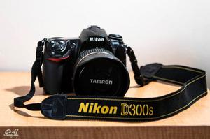 Camara Nikon D300s + Lente Tamron mm F/2.8 Di Vc Usd