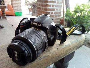 Cámara Nikon D Con 90 Disparos