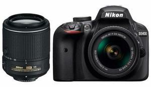 Cámara Nikon D Kit Dos Lentes mm