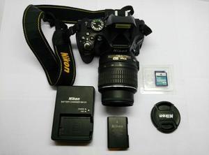 Cámara Reflex Nikon D Lentes . V O