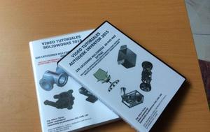 DOBLE PACK 640 VIDEO TUTORIALES AUTODESK INVENTOR Y