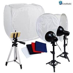 Kit Para Estudio Fotográfico Limoestudio Tripode Aluminio